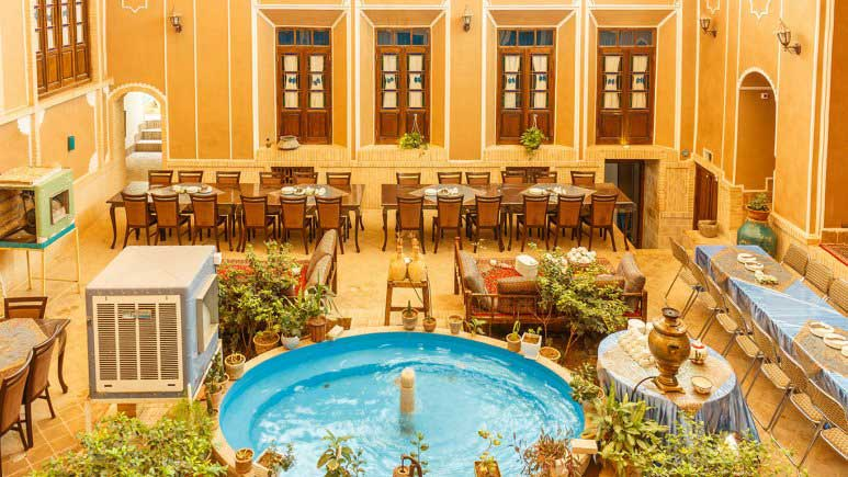 Firoozeh Traditional Hotel Yazd - Booking Hotels in Yazd by IranTravelBooking