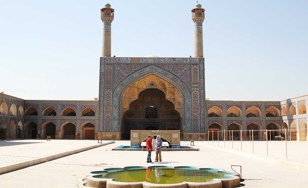 Masjed-e Jame of Isfahan - Iran Travel Booking