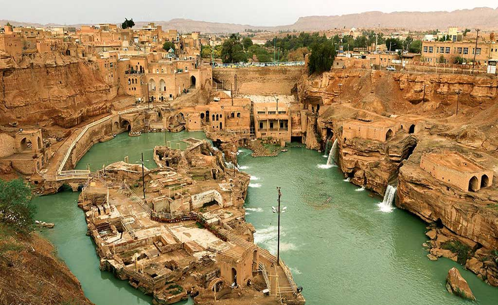 Shushtar Historical Hydraulic System - Iran Travel booking